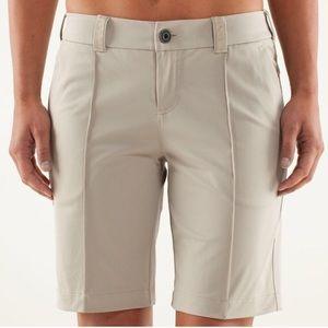 Lululemon Khaki Club Shorts